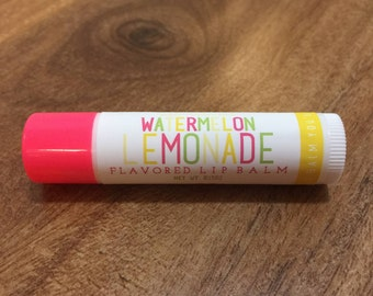 WATERMELON LEMONADE Lip Balm - All Natural - Homemade