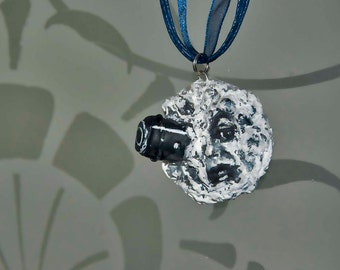 Trip to the Moon Necklace Pendant