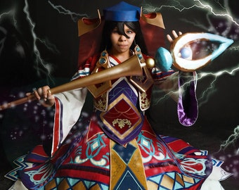 MABLE TAYLOR Word of Mystic Wiz Cosplay Print