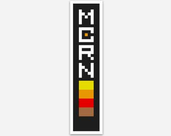 MCRN Pixel Art Sticker