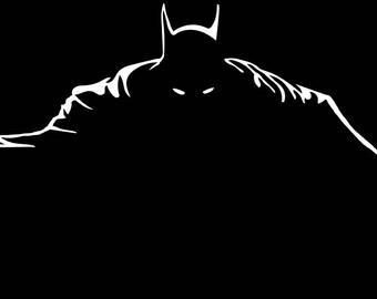 Batman Concrete Print