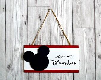 DisneyLand countdown plaque - gift plaque