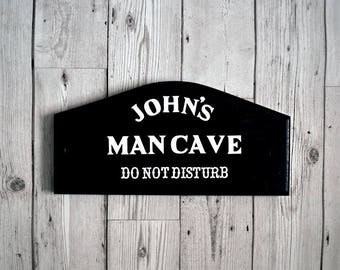 Personalised Man Cave Sign - Father's day gift