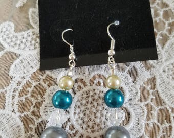 Teal & Slate Blue Pearl