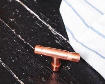 Copper door handle, copper door knob, copper drawer pull, cupboard handle