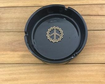 Peace Sign Ash Tray