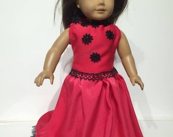 American girl doll night gown dress