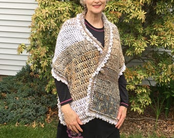 Prayer Shawl, Mourning Dove - free shipping