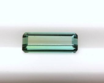 1.22 cts Octagonal Green Tourmaline, Octagonal Tourmaline, Loose Gemstone, Green Gemstone,  Green Tourmaline,Tourmaline Gemstone,Octagonal