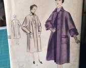 Vintage Vogue 7221 Coats Size 14 Bust 32 From 1950