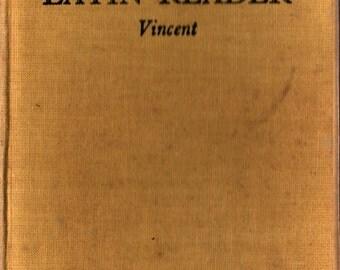 A First Latin Reader - C. J. Vincent - 1953 - Vintage Language Book