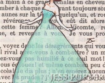 Paris, 1956 - Dita Dances, Club St Germain, St Germain - 8 x 10 Print