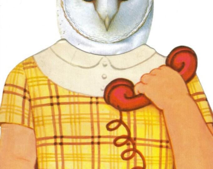 Whooo Is Calling, Original Owl Art