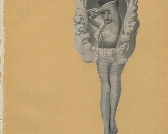 Slightly twisted. Original collage by Vivienne Strauss.