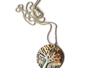 Gift-Tree-Of-Life For|Womens-Gift|For-Her Sterling|Silver|Jewelry Tree Necklace|Inspirational|Jewelry|Choice Small Or Large Sterling Pendant