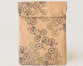 Forest Bikes iPad & Tablet Paper Sleeve