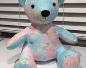 Custom Handmade Memory Keepsake Bear