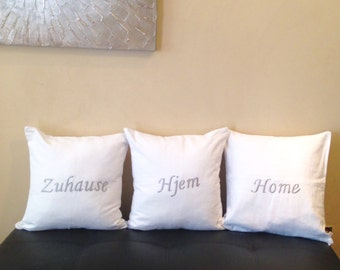 Unique Monogram Throw Pillows Gifts By Snazzyliving On Etsy