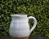 Medium plus farmhouse-style pitcher