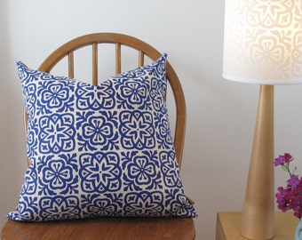 Moroccan Tile Square Pillow