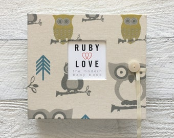 BABY BOOK | Blue and Green Owls Album