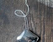 Moonshine Pendant Native Silver