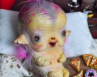 SALE!! - Conchita Bernard - art doll ooak pure sculpt fantasy creature imaginary friend magical fairy tales creatures