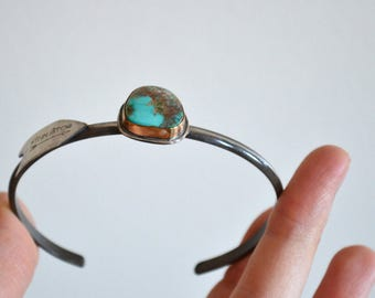 MAY SALE - Turquoise Silver Cuff
