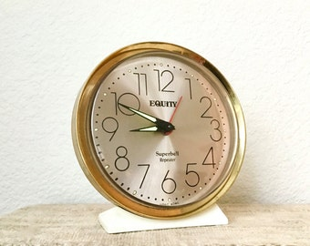 Vintage Alarm Clock, Equity Superbell Repeater