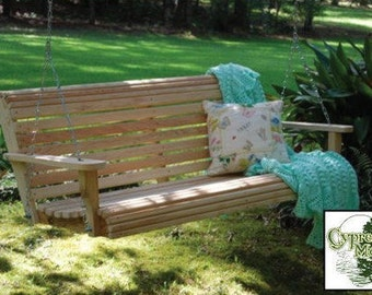 5 ft. Cypress Porch Swing (FREE SHIPPING)