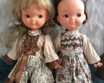 Vintage 70s Hong Kong Dolls