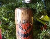 Nightmare Before Christmas Themed Holiday Portal Tree Ornament - Halloween