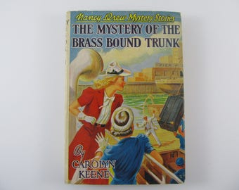 Nancy Drew Mystery Stories #17  The Mystery Of The Brass Bound Trunk