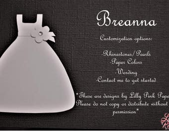 "Will You Be My Flower Girl - The ""Breanna"" Design"