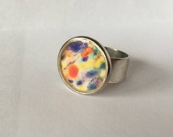 Colors - Adjustable Photograph Ring