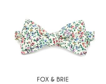 Prairie Floral Bow Tie