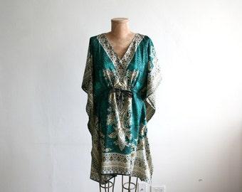 Emerald Indian Tunic Dress