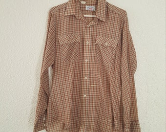 Vintage Mens Levis Button Down