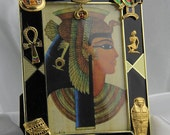 Beautiful Egyptian Jewelry Picture Frame, All Occasion,Holiday,Birthday Gift