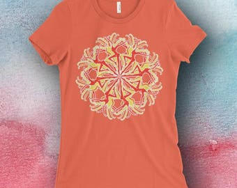 DMB Inspired Carousel Bella T-Shirt