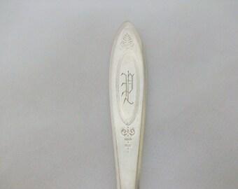 """Monogrammed Adam Dinner 1917 Fork 7 5/8"""" /"""