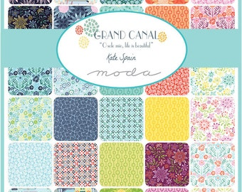 Grand Canal Charm Pack by Kate Spain for Moda Fabrics