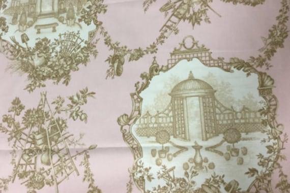 """56"""" Wide Braemore Gazebo Cotton Toile Home Decorator"""