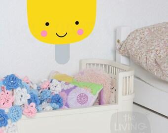 Ice Cream Nursery Wall Decals, Ice Cream Baby Room Wall Art, Sweet Ice Cream Stick Vinyl Sticker Home Decor, Australian made