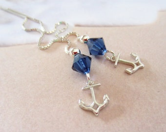 Threaders- Anchors-Sterling Silver