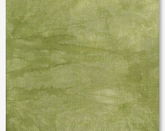 PICKLED 16 ct. hand-dyed cross stitch Aida fabric Picture This Plus PTP count hand embroidery