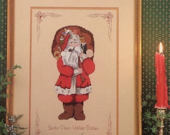 Cross Stitch Pattern SANTA CLAUS Saint To Claus Series - MaJor Presentations Joretta Headlee