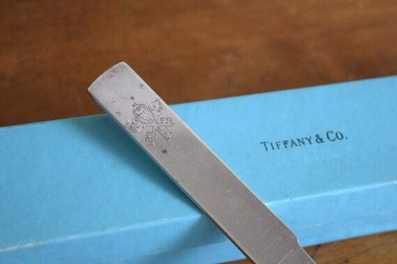 Vintage Tiffany & Co Sterling Silver Letter Opener