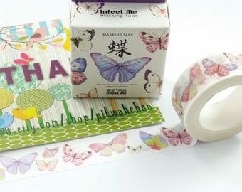 Butterfly Washi Tape (15mm X 7M)