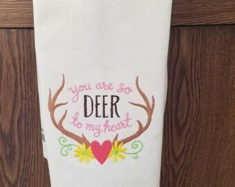 Valentine Tea Towel